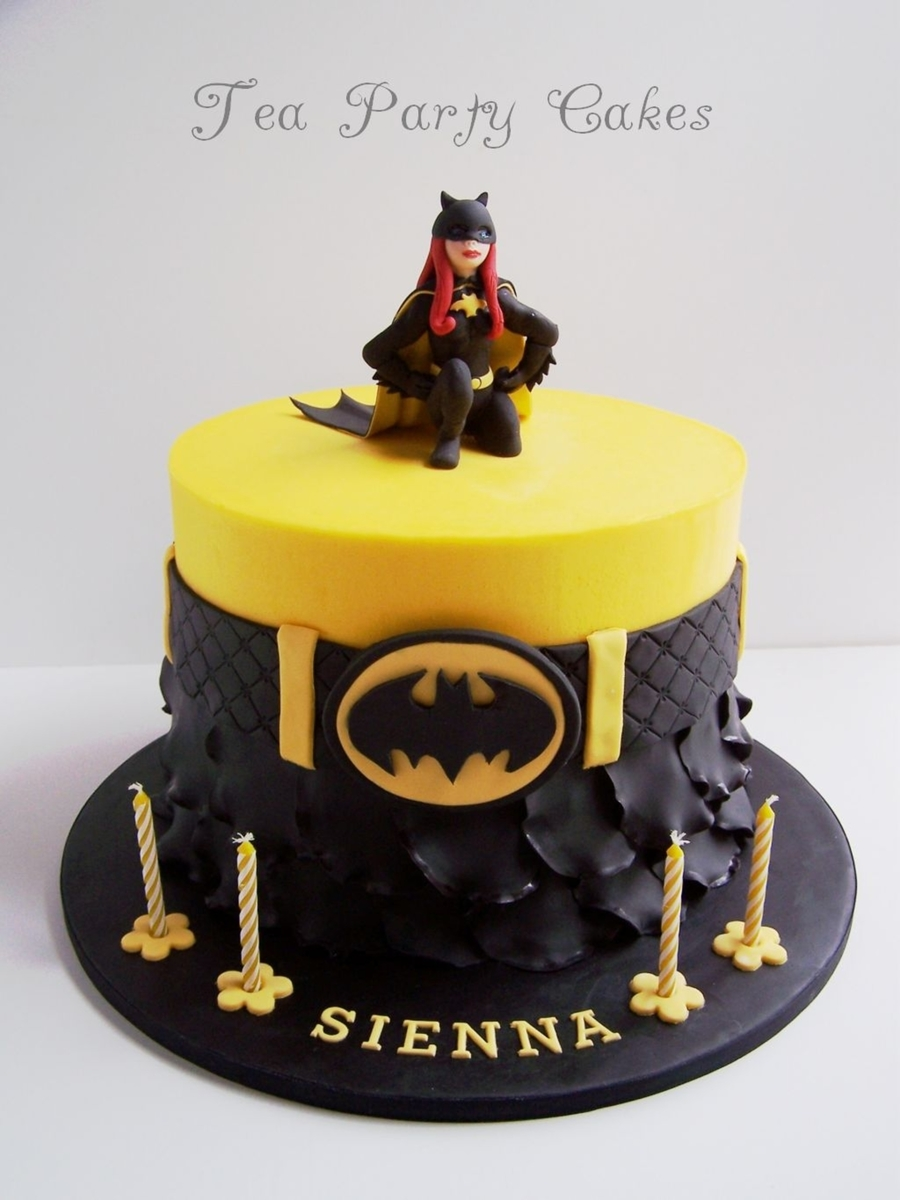 Batgirl Cake Decorations