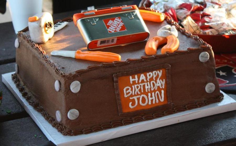 Home Depot Tools Cake!! - CakeCentral.com