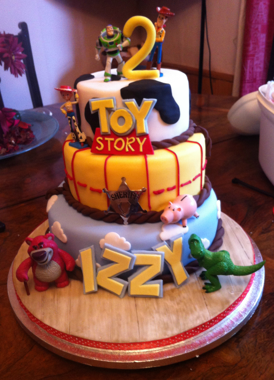 Toys For Birthday : Toy story tiered cake for nd birthday children