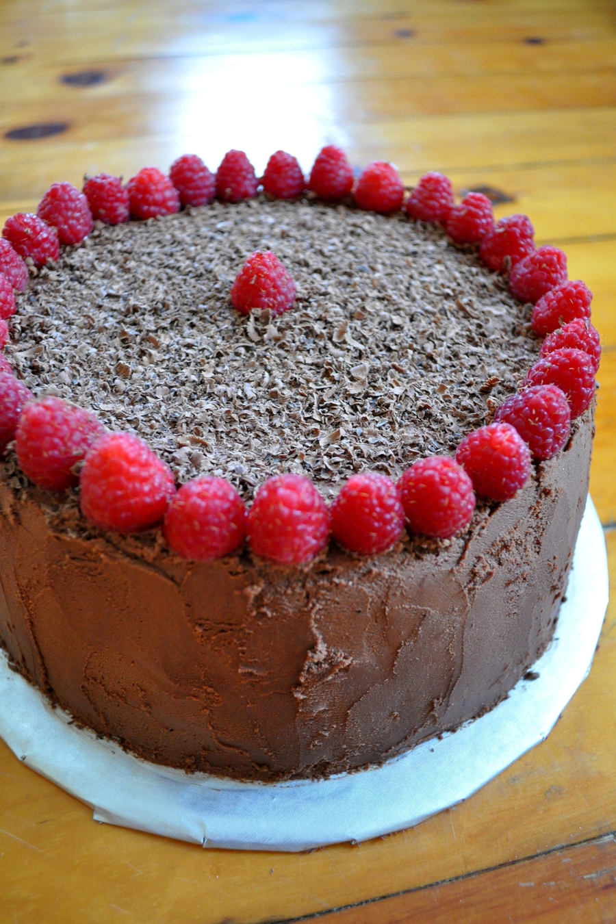 Rich Chocolate Raspberry Cake on Cake Central