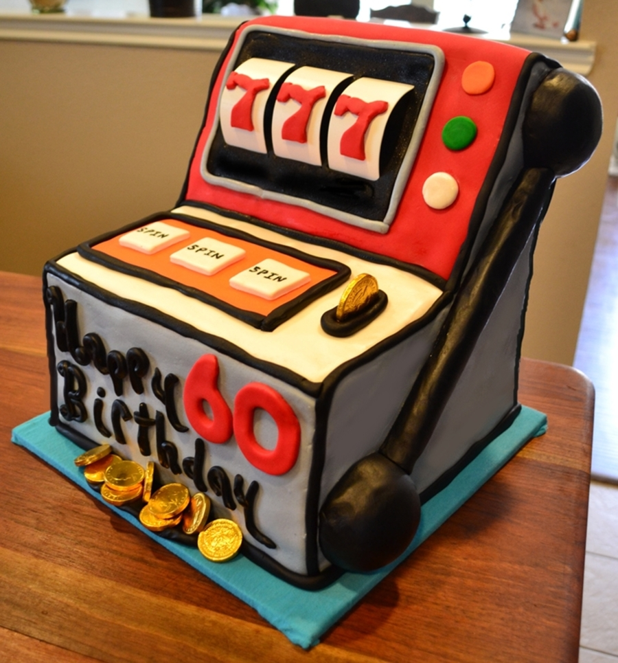 Slot Machine Cake Decorating Ideas