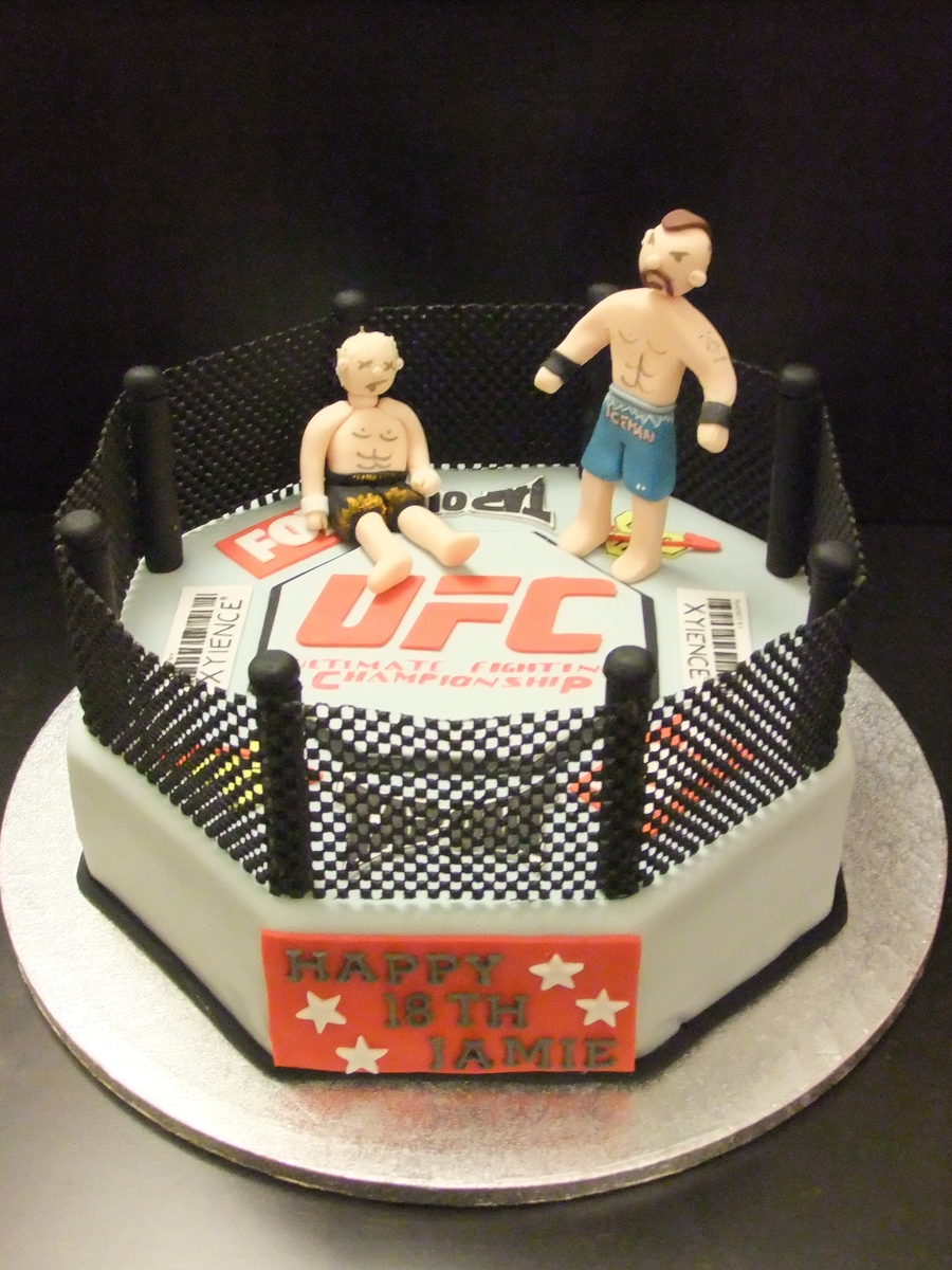 Ufc Cake on Cake Central
