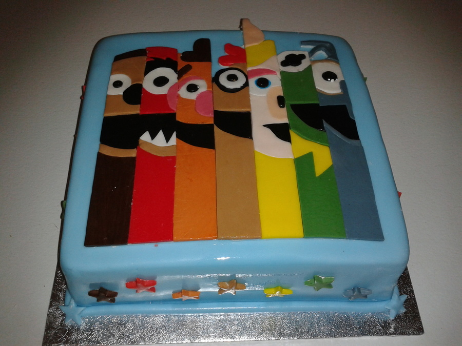 Muppets Cake For A Grown Up Fan on Cake Central