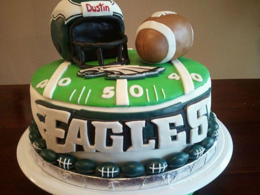 Happy Birthday Eagle Cake