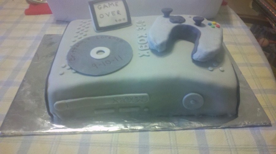 X-Box Grooms Cake on Cake Central