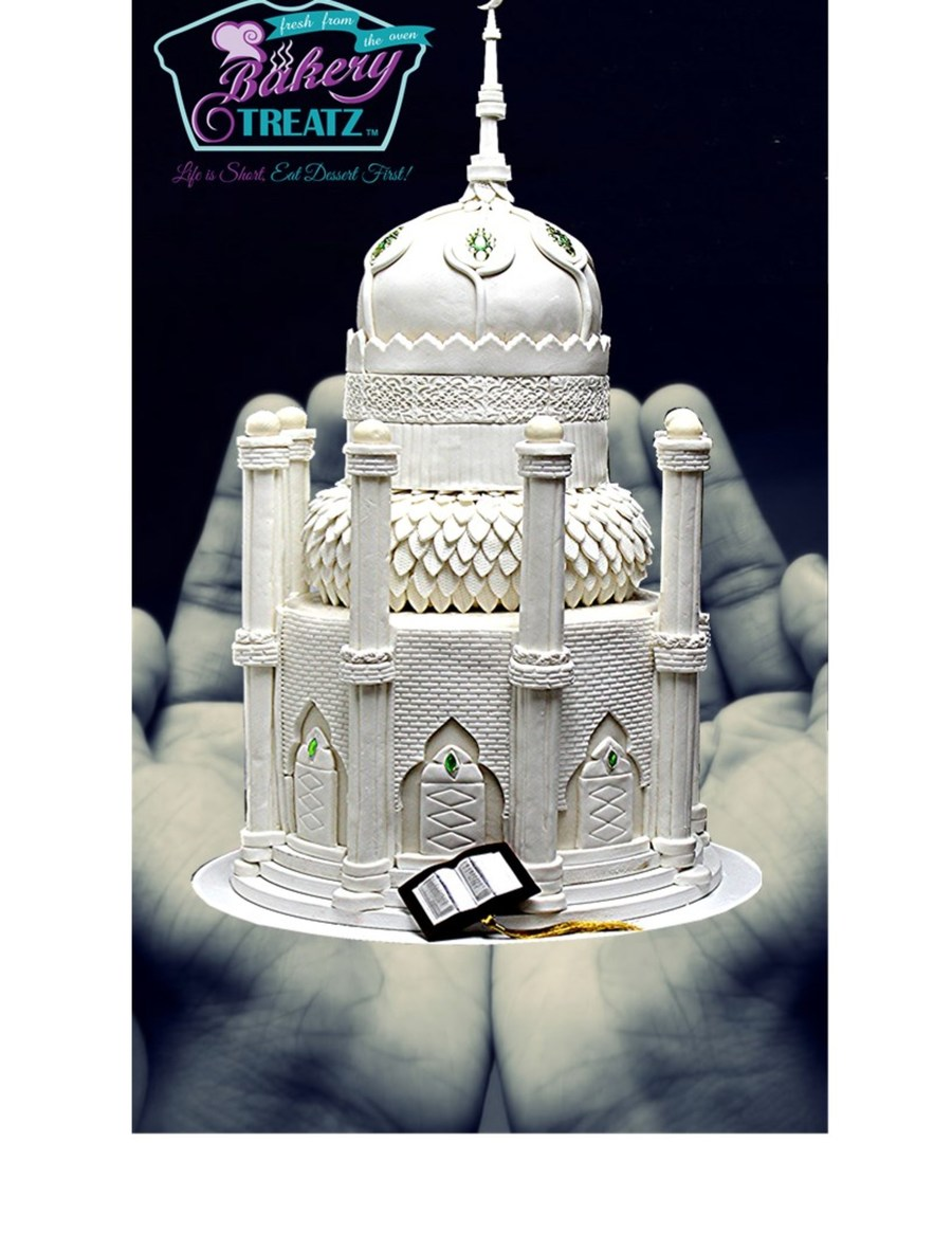Mosque Wedding Cake on Cake Central