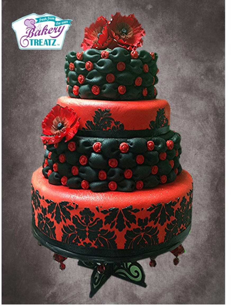 Red And Blackjpg on Cake Central
