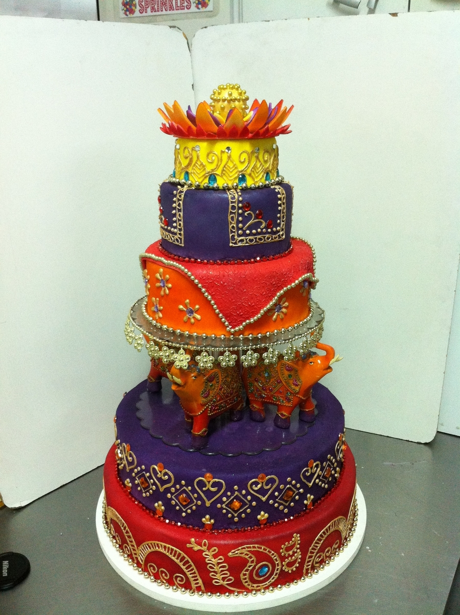 indian wedding cakes pictures indian wedding cake cakecentral 16421