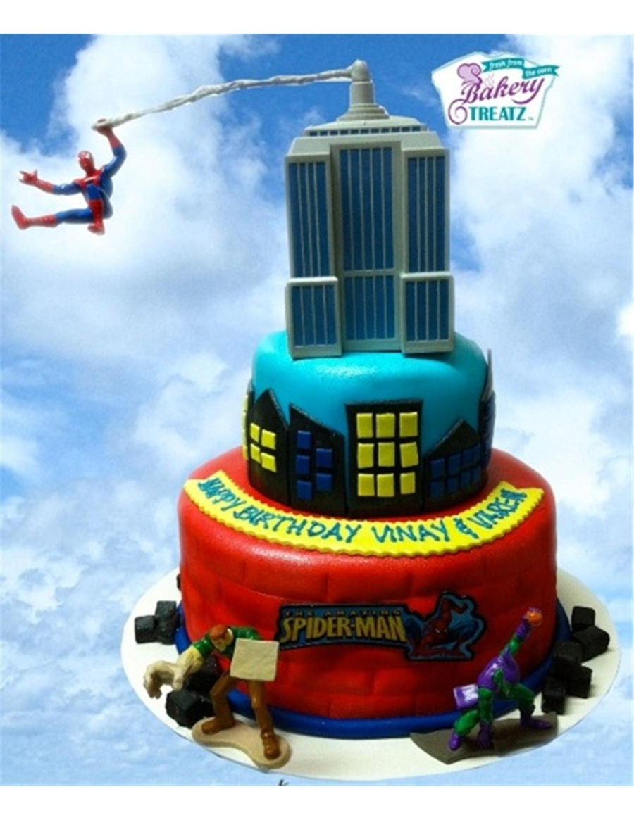 Spiderman To The Rescue! on Cake Central