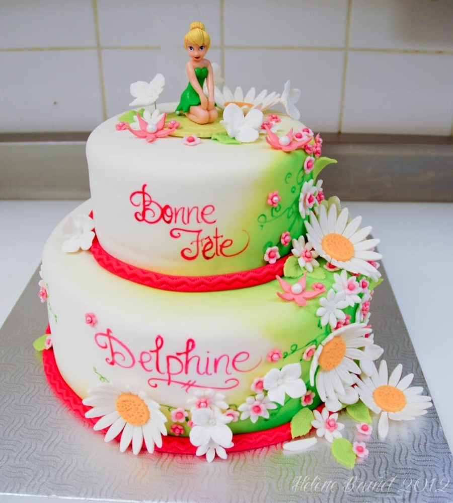 Tinkerbell Birthday Cake - CakeCentral.com