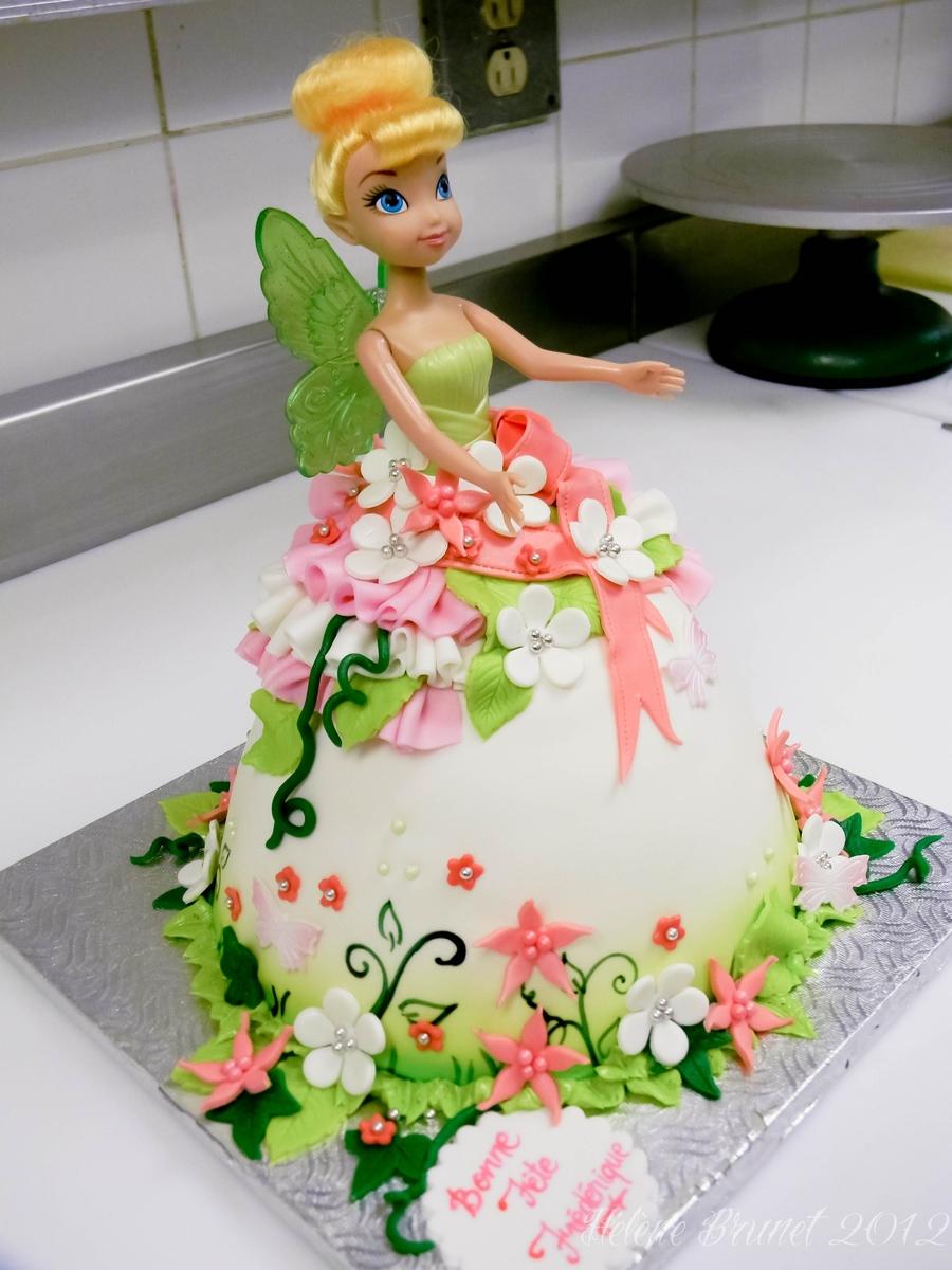 Doll Cake Tinkerbell