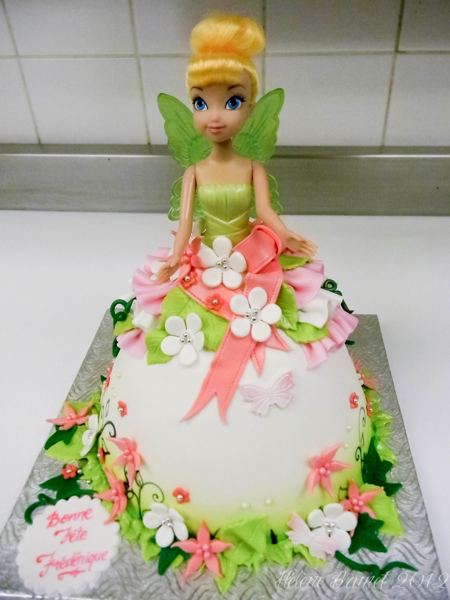Doll Cake Images Download : Tinkerbell Doll Cake - CakeCentral.com