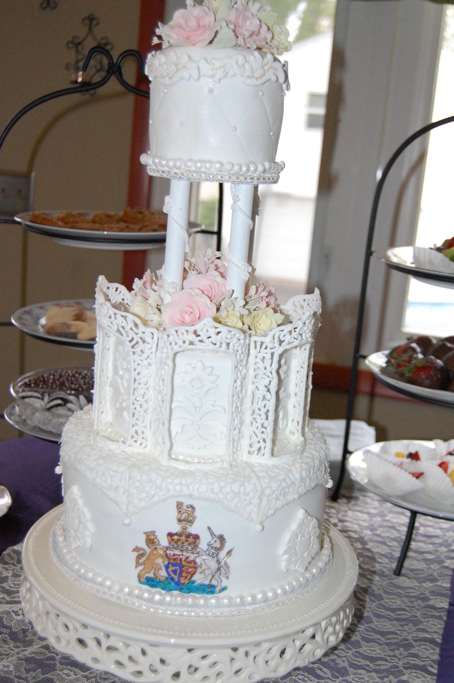 Royal Wedding Cake Cakecentral Com