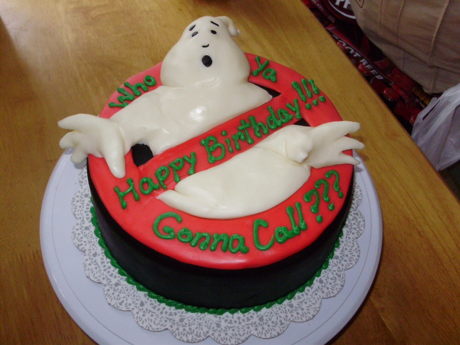 Who You Gonna Call? on Cake Central