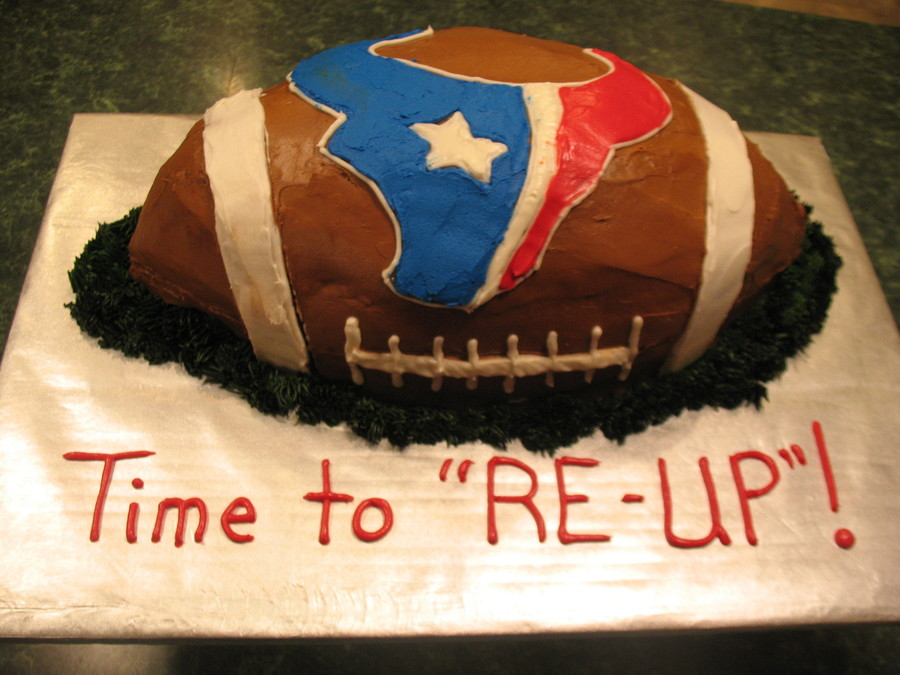 Navy Reinlisting/ Texans Fan on Cake Central