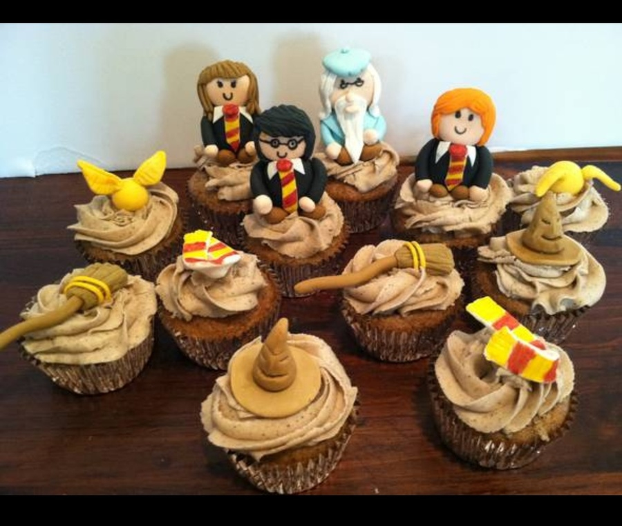 Harry Potter Cupcakes on Cake Central
