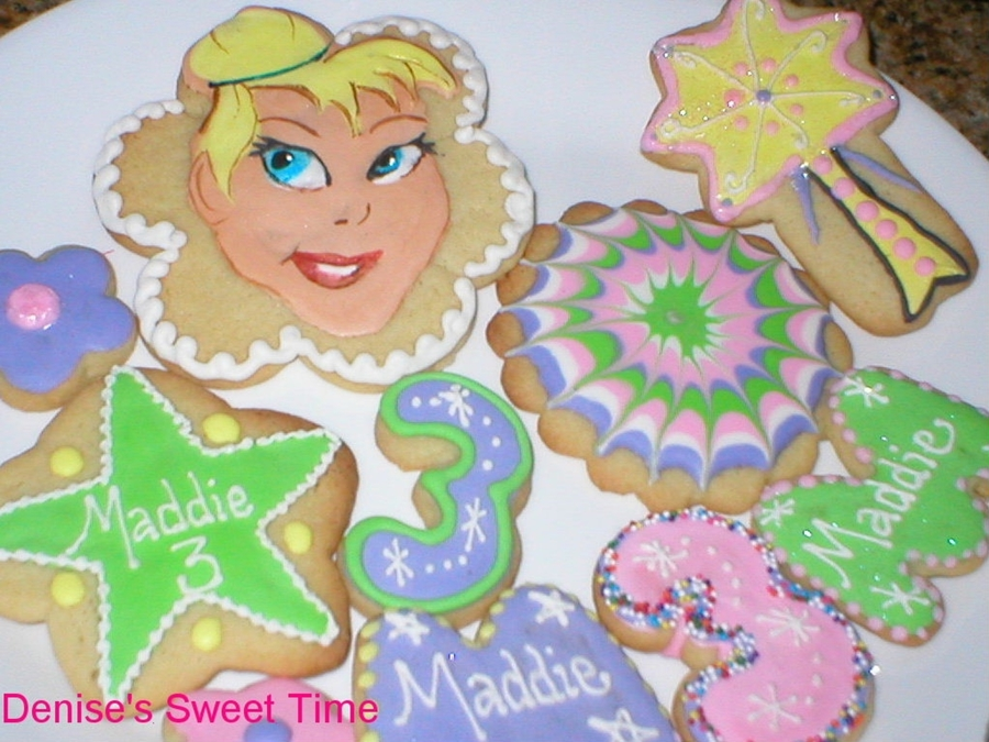 Tinkerbell Cookies on Cake Central