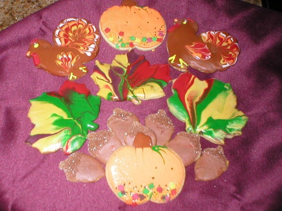 Fall Cookies on Cake Central