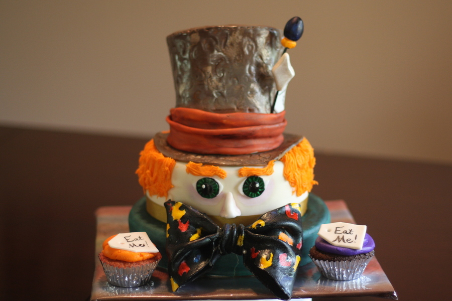 Mad Hatter Cake on Cake Central