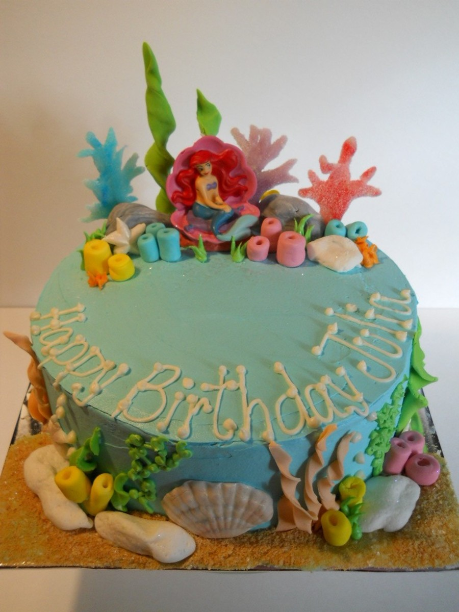 Ariel The Little Mermaid on Cake Central