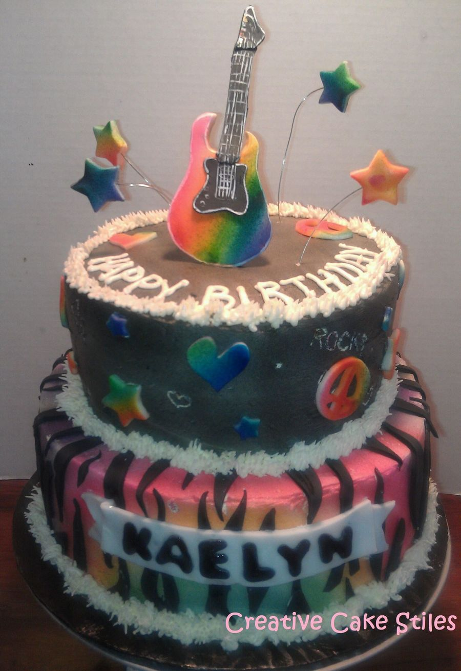 Rock Star on Cake Central
