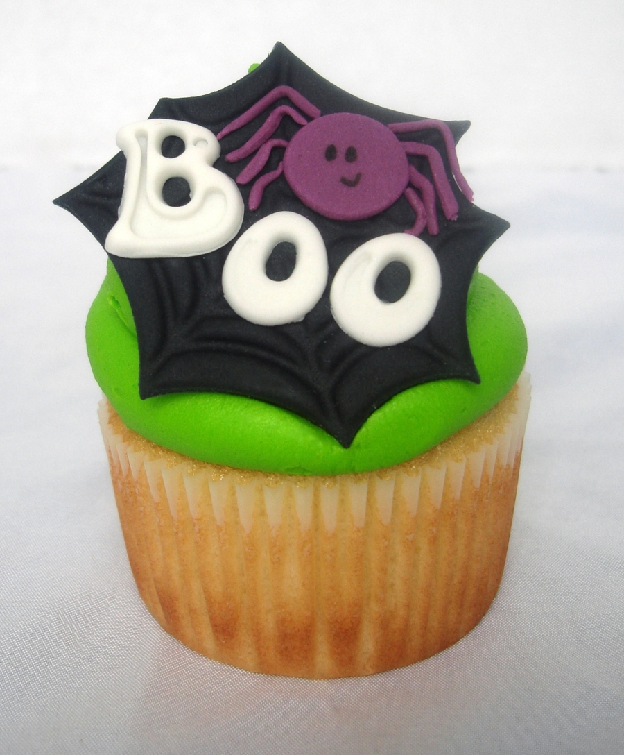 Spider Web Cupcake on Cake Central