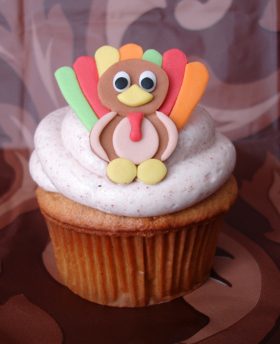 Thanksgiving Cupcake on Cake Central