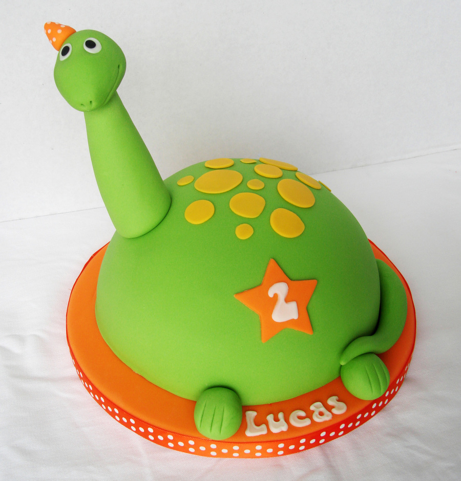How To Make Dinosaur Shaped Cake