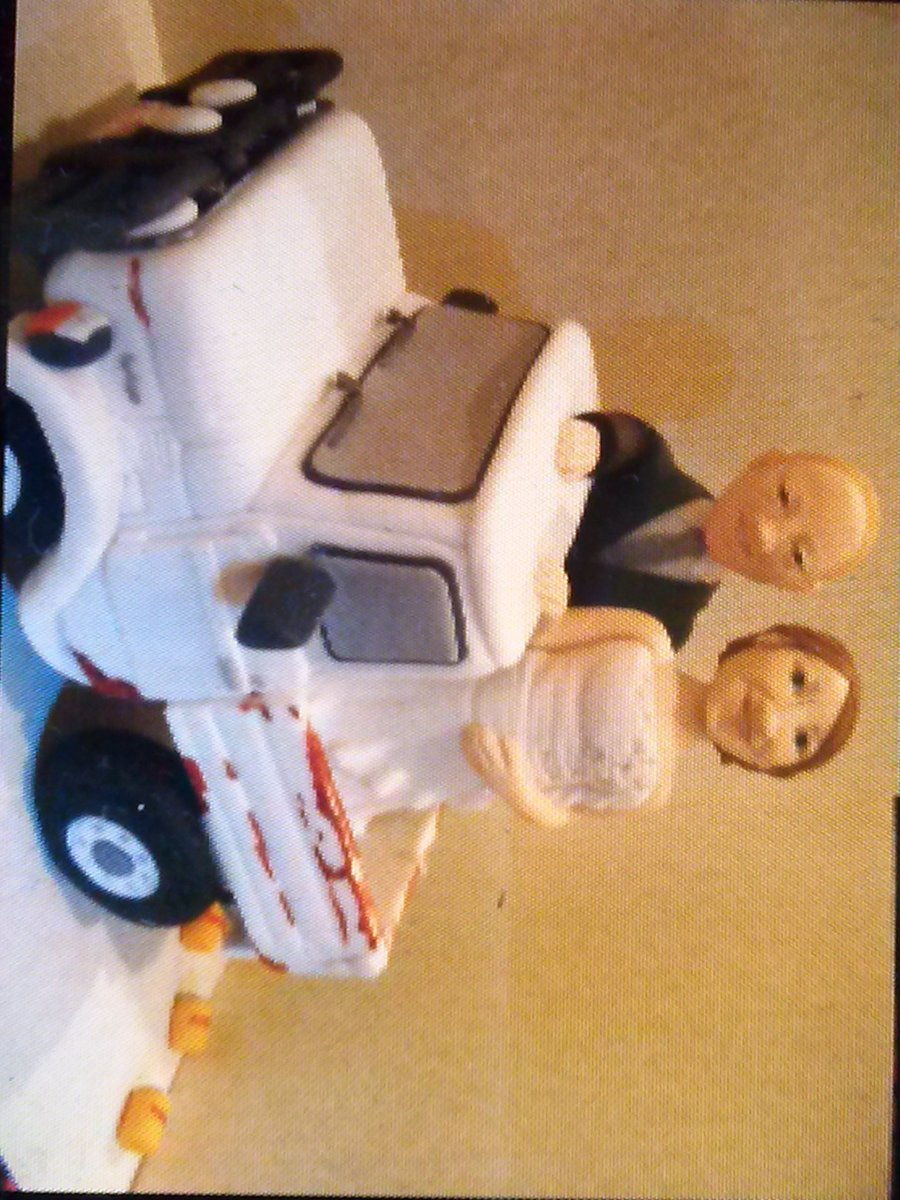 Gumpaste Bride And Groom on Cake Central