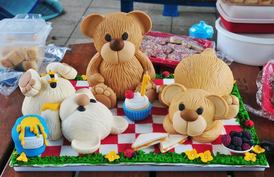 Teddy Bears Picnic Cakecentral Com