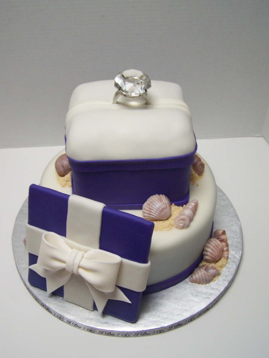 Engagement Ring on Cake Central
