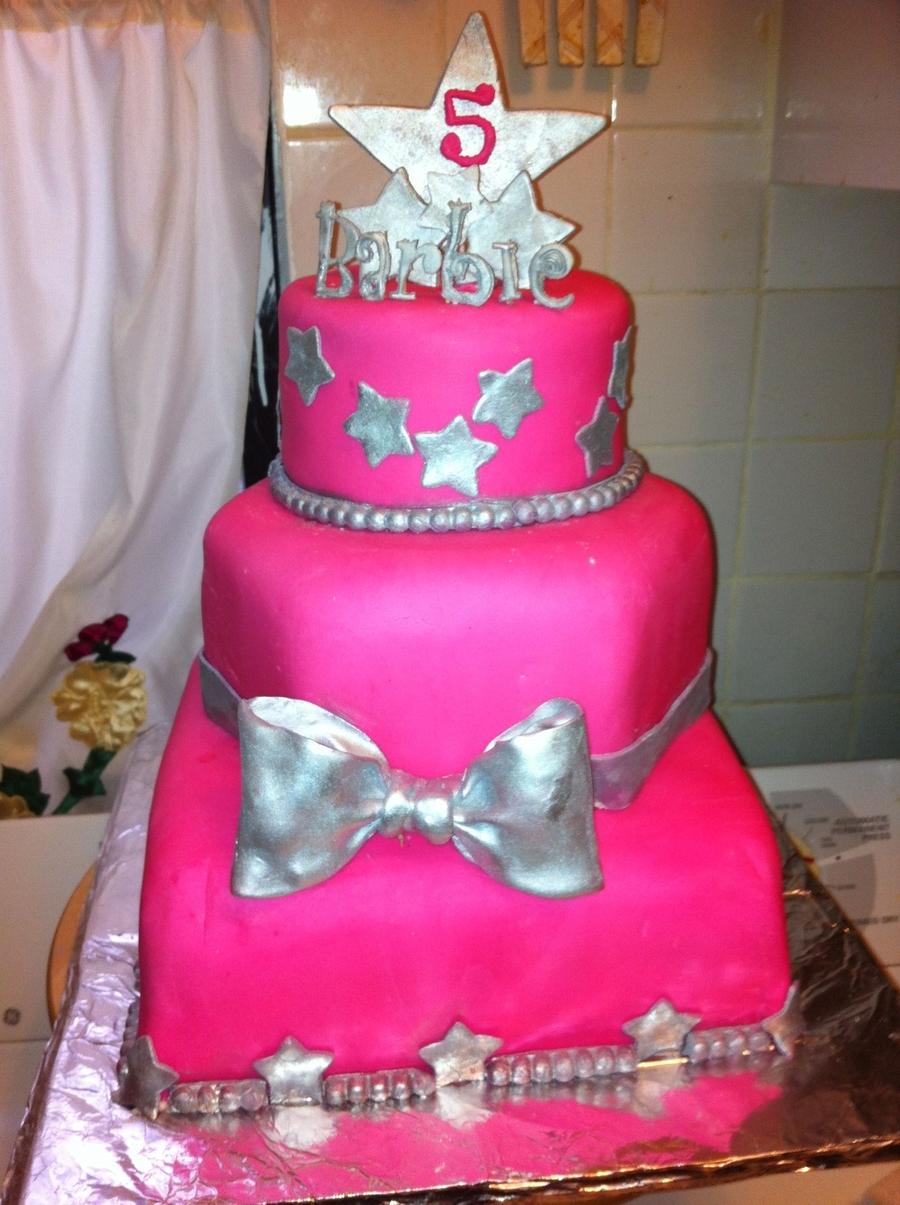 Barbie Birthday Cake Cakecentral Com