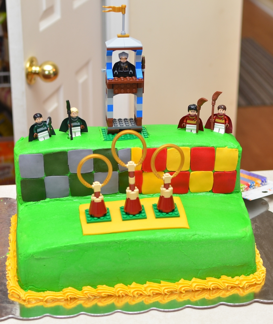 Harry Potter Quidditch on Cake Central
