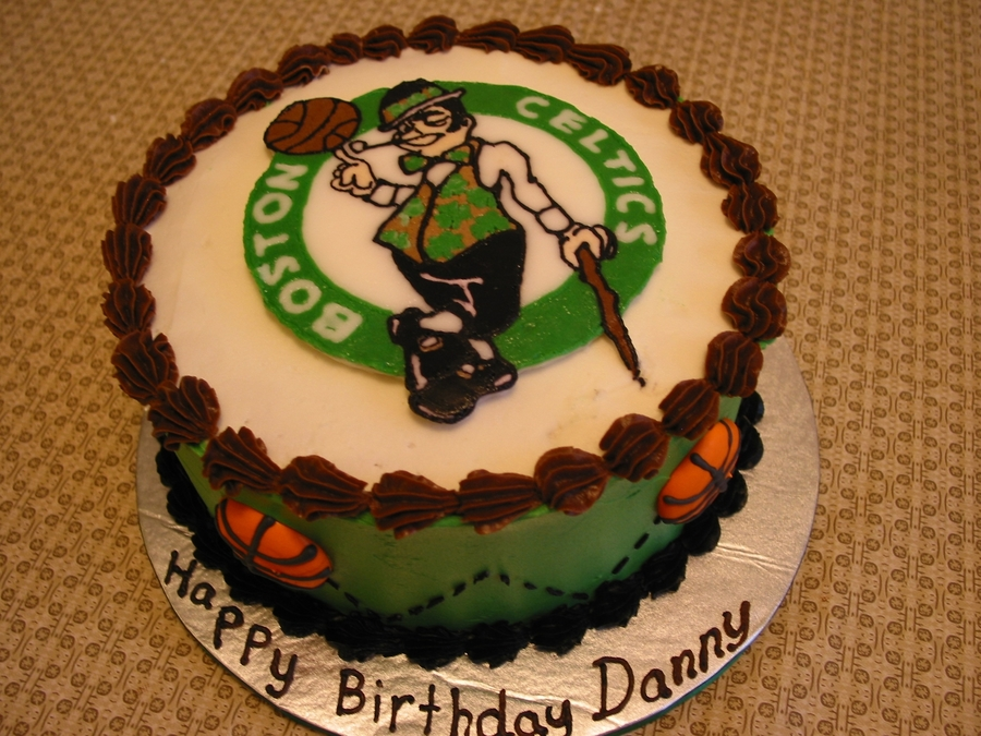 Boston Celtics Fan Birthday Cake Cakecentral