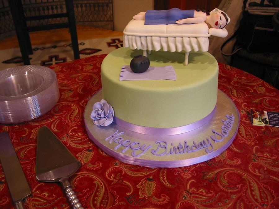 Birthday Cake Images And Massage : Massage Therapist Birthday Cake - CakeCentral.com