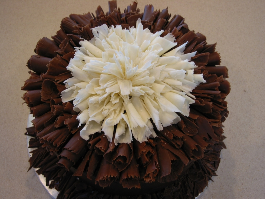 How To Make Chocolate Curls For Cake