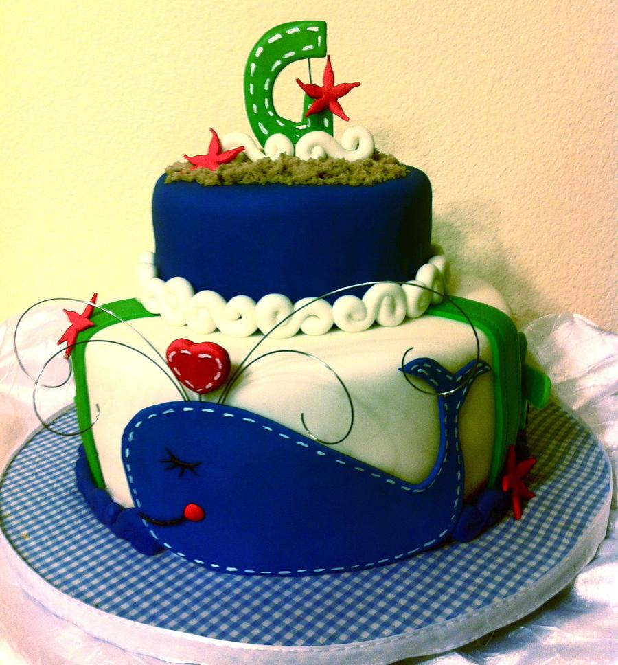 Navy Orange Cake