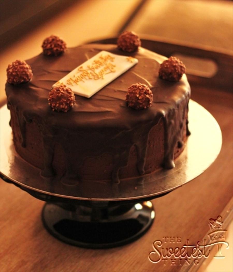 Cakecentral Com: Ferrero Rocher Cake