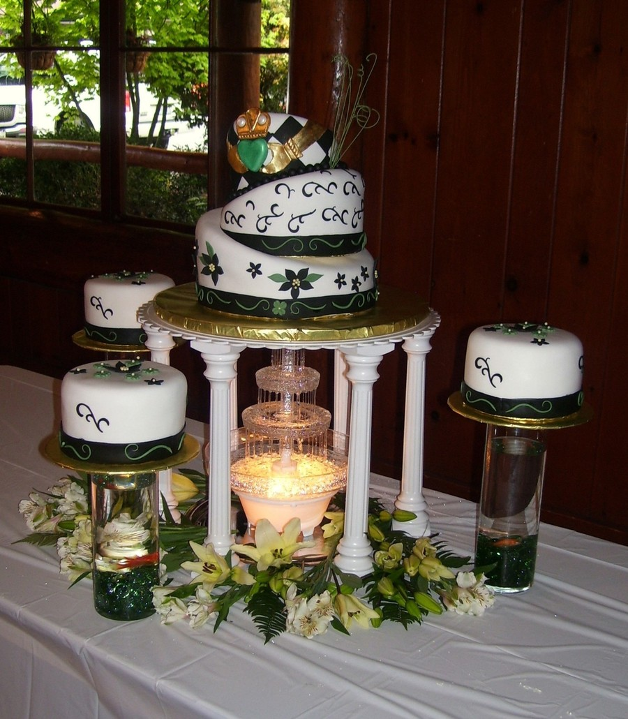 irish topsy turvy wedding cake. Black Bedroom Furniture Sets. Home Design Ideas