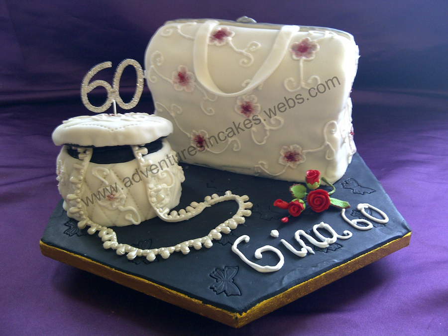 Handbag And Trinket Box Cake on Cake Central
