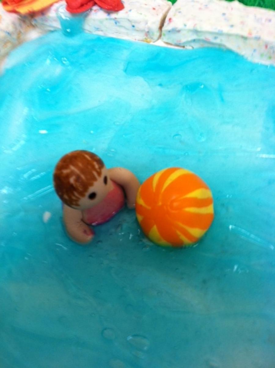 Swimming Pool Cake Recipe