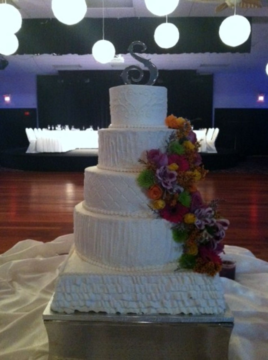 5 Tier Wedding on Cake Central