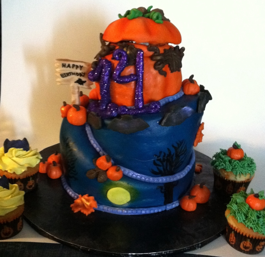 Halloween Birthday on Cake Central