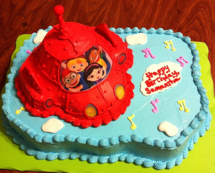 Little Einstein Cake Rocket