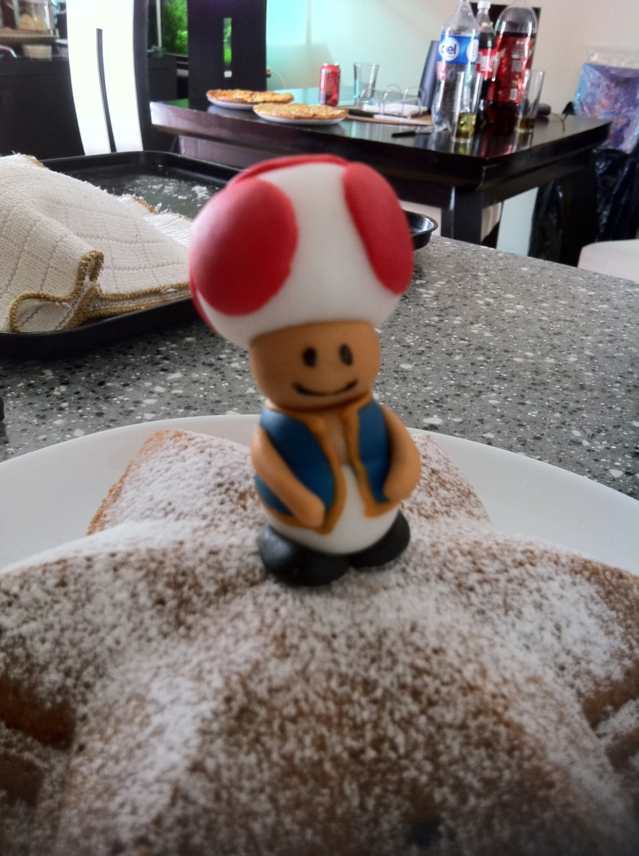 Mario Bros Toad on Cake Central