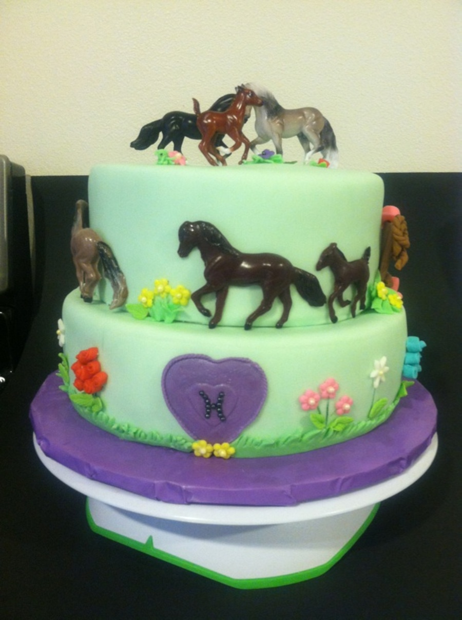 Horse Cake Decorating Ideas