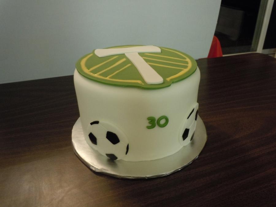 Outstanding Portland Timbers Birthday Cakecentral Com Birthday Cards Printable Giouspongecafe Filternl