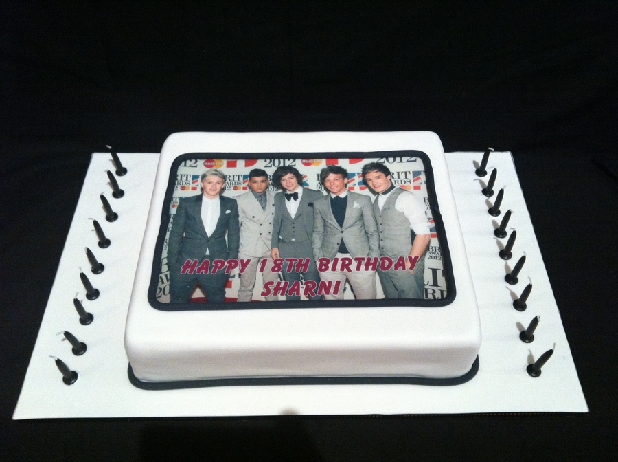1 Direction Cake on Cake Central