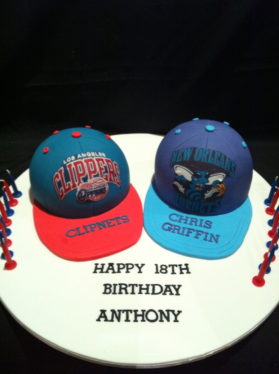 Basketball Caps on Cake Central