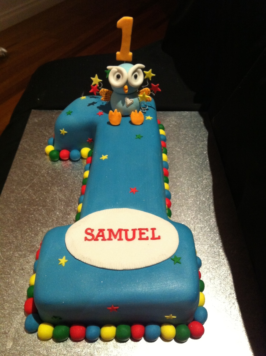 Number 1 Hoot Cake on Cake Central